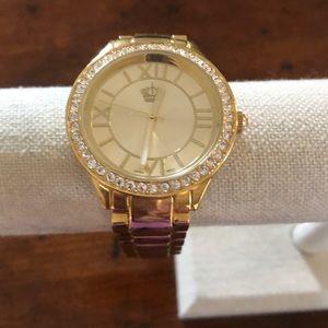 """Premier Designs """"Gold Crown"""" watch"""